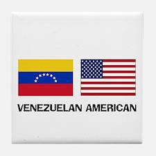 Venezuelan American Tile Coaster