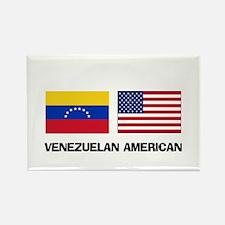 Venezuelan American Rectangle Magnet