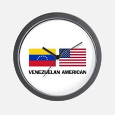 Venezuelan American Wall Clock