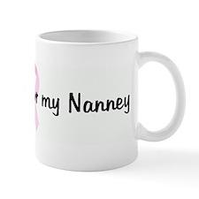 I wear Pink for my Nanney pin Mug