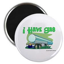 """I Have Gas Tanker Driver 2.25"""" Magnet (10 pack)"""