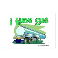I Have Gas Tanker Driver Postcards (Package of 8)