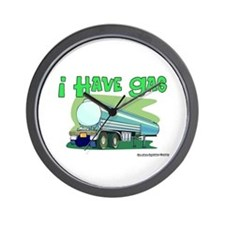 I Have Gas Tanker Driver Wall Clock