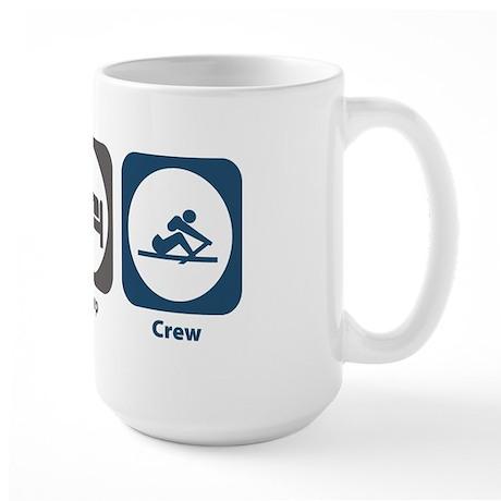 Eat Sleep Crew Large Mug