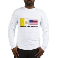 Vatican City American Long Sleeve T-Shirt