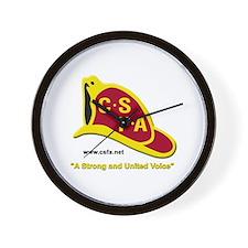 CSFA Wall Clock