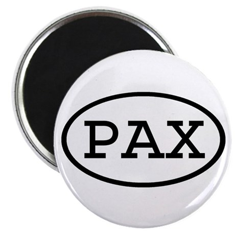 "PAX Oval 2.25"" Magnet (10 pack)"