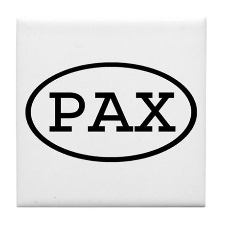 PAX Oval Tile Coaster
