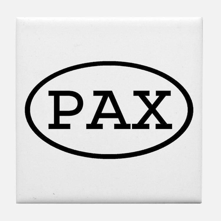 PAX Oval Tile Coaster