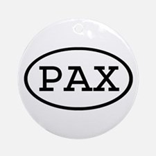 PAX Oval Ornament (Round)