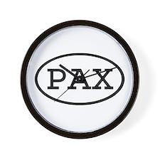 PAX Oval Wall Clock
