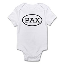PAX Oval Infant Bodysuit