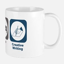 Eat Sleep Creative Writing Mug
