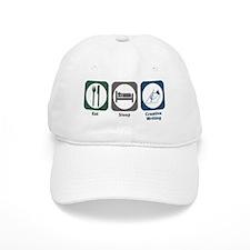 Eat Sleep Creative Writing Baseball Cap