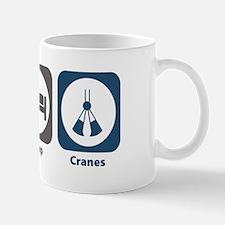Eat Sleep Cranes Mug