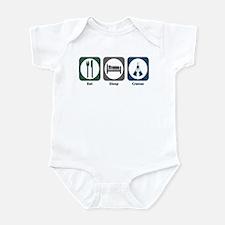 Eat Sleep Cranes Infant Bodysuit