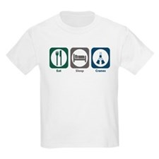 Eat Sleep Cranes T-Shirt