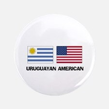 "Uruguayan American 3.5"" Button"