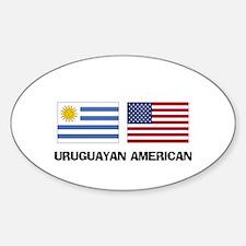 Uruguayan American Oval Decal
