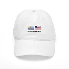 Uruguayan American Baseball Cap