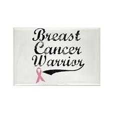 Breast Cancer Warrior Rectangle Magnet
