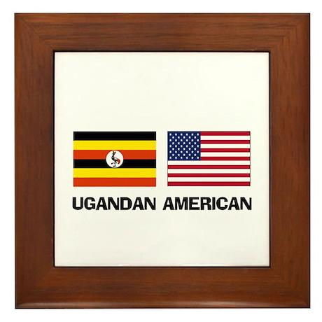 Ugandan American Framed Tile
