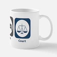 Eat Sleep Court Mug