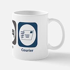 Eat Sleep Courier Mug