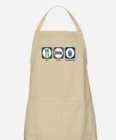Eat Sleep Counseling BBQ Apron