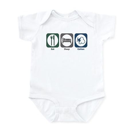 Eat Sleep Cotton Infant Bodysuit