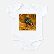 Green Bottle Fly Infant Bodysuit
