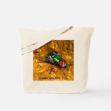 Green Bottle Fly Tote Bag
