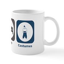 Eat Sleep Costumes Small Mug