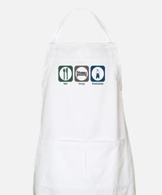 Eat Sleep Costumes BBQ Apron