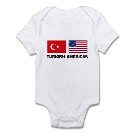Turkish American Infant Bodysuit