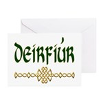 Sister in Gaelic (Knot) NoteCards (6)
