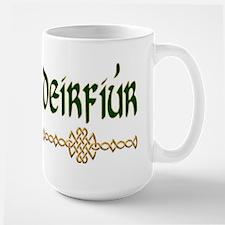 Sister in Gaelic (Knot) Large Mug
