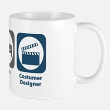 Eat Sleep Costumer Designer Mug