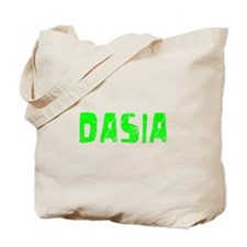 Dasia Faded (Green) Tote Bag