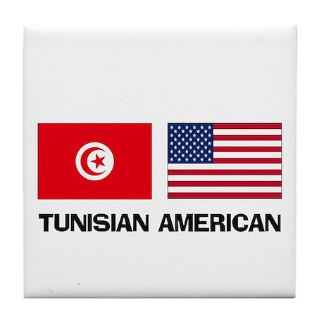 Tunisian American Tile Coaster