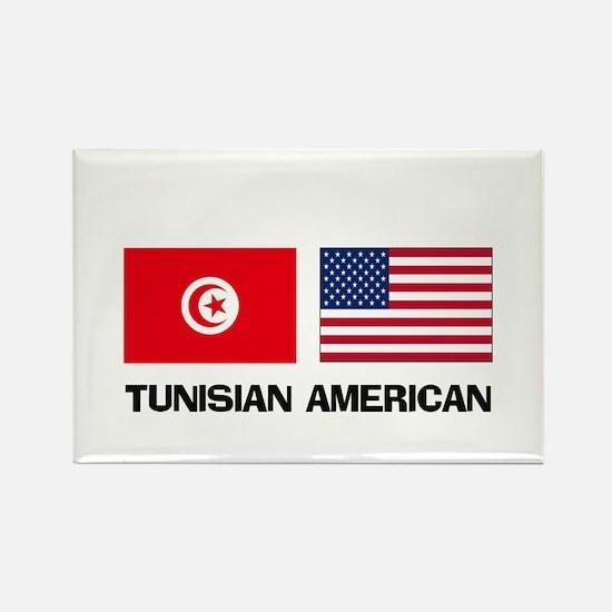 Tunisian American Rectangle Magnet