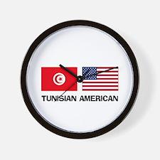 Tunisian American Wall Clock