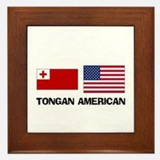 Tongan American Framed Tile
