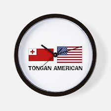 Tongan American Wall Clock