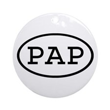 PAP Oval Ornament (Round)