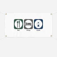 Eat Sleep Cook Banner