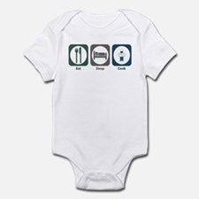 Eat Sleep Cook Infant Bodysuit