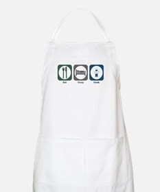 Eat Sleep Cook BBQ Apron