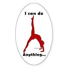 Gymnastics Stickers (10)