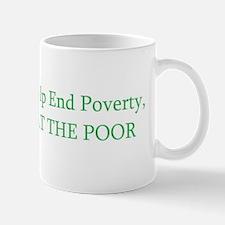 End poverty Mug